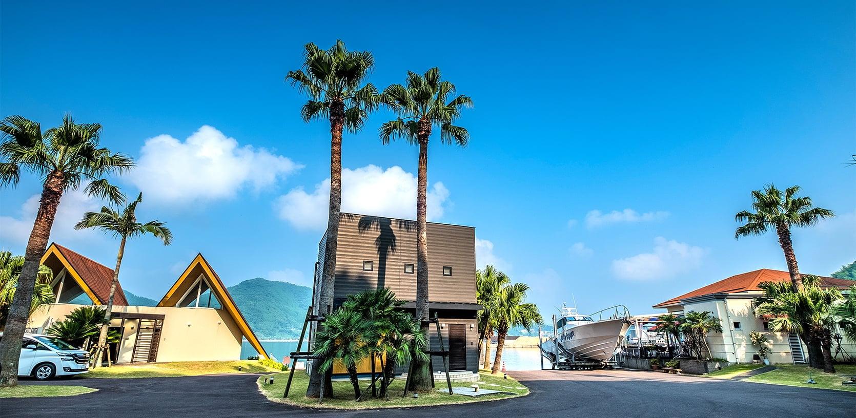 九州・宮崎唯一のグランピング施設