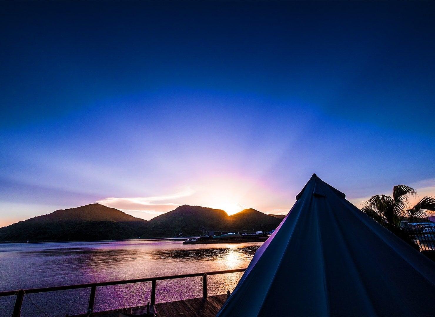九州・宮崎唯一の本格グランピングテント
